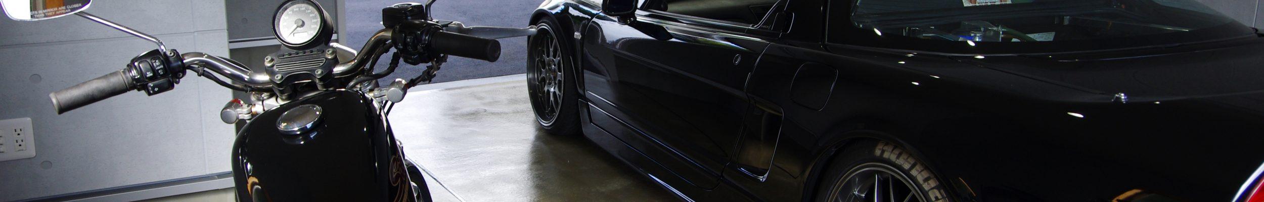 ガレージのある暮らし