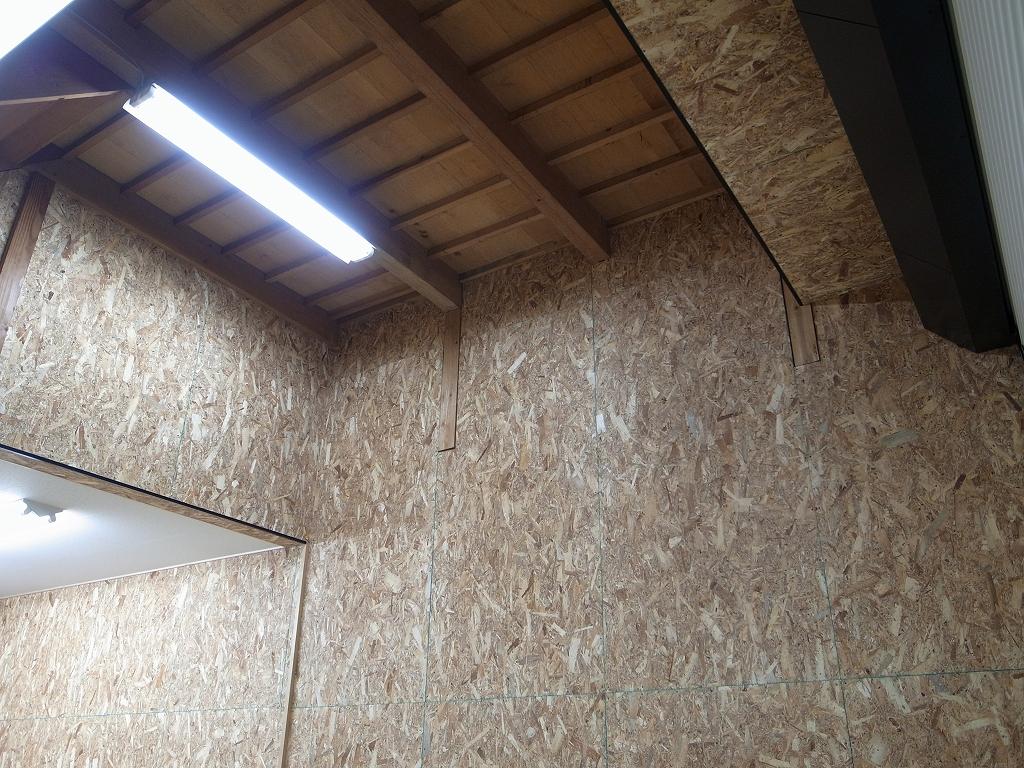 ガレージ天井