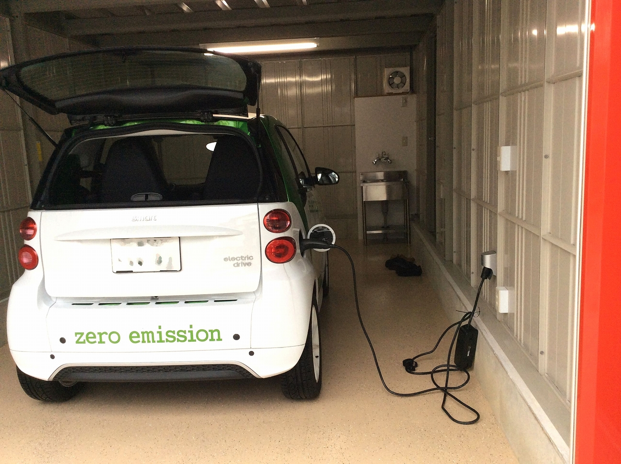 EV対応 200V電源