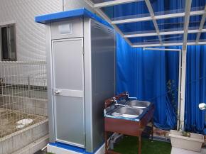 共用トイレ&シンク