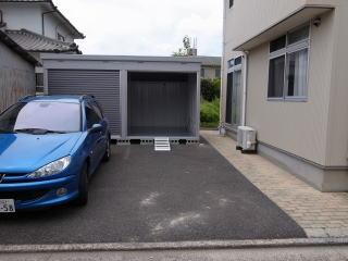 敷地内専用駐車場