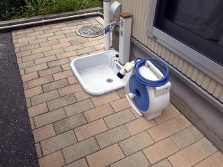 洗車用立水洗